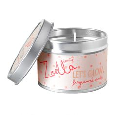 Zoella Beauty Let's Glow Fragranced Candle - feelunique.com