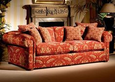Duresta Woodbury Grand sofa from George Tannahill & Sons - Large fabric sofa designs.