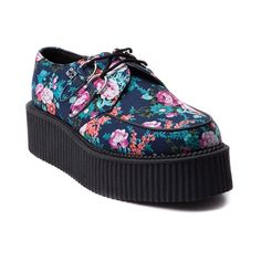 Womens T.U.K. Creeper Casual Shoe, Multi, at Journeys Shoes