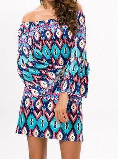 5aa36074f0f Dress Plus Size XXXL Off Shoulder Sexy Mini Dress Vestido Casual Women  Clothes Bohe Bohemian Traditional Printed Dress