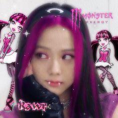 Princesa Emo, Icons Girls, Babe, Blackpink And Bts, Blackpink Photos, Cybergoth, Jennie Blackpink, Blackpink Jisoo, Kpop Aesthetic