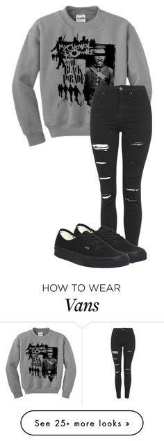 """Untitled #591"" by bands-are-my-savior on Polyvore featuring Topshop and Vans"