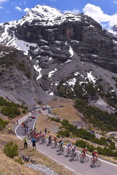100th Tour of Italy 2017 / Stage 16 Peloton / Passo Dello Stelvio Mountains / Landscape / Rovetta Bormio / Giro /