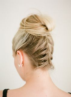 View entire slideshow: Skip A Wash With These Second-Day Hairstyles on http://www.stylemepretty.com/collection/4786/