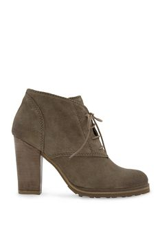 MANGO - NEW! - Lace-up suede ankle boots