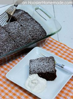 Zucchini is the secret to making this Chocolate Cake so moist – you must try this recipe for a holiday dessert!