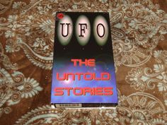 UFO: The Untold Stories (VHS, 1994) OOP 1st Acorn Alien Conspiracy! *NOT ON DVD*
