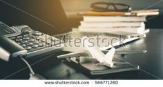 online Travel Agency service office  working table