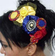♡♡ Hair Band, Fashion, Colombian Flag, Accessories, Moda, Fashion Styles, Fashion Illustrations