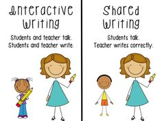 Interactive writing information to help get started!
