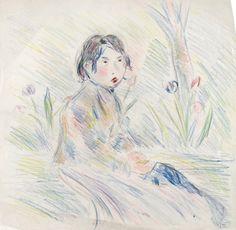 Julie Manet, Paysanne parmi les tulipes