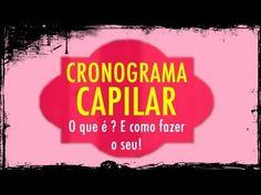 CRONOGRAMA CAPILAR   Pam Rocha