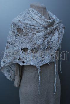"""Threads"" Fiber art by Claudia Burkhardt"