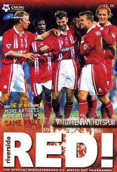 Middlesbrough vs Tottenham Hotspur 1999