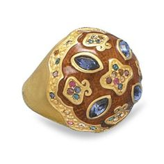 14 karat gold plated brass and topaz color epoxy fashion ring with multicolor crystals. The top design area of the ring measures Crystal Fashion, Topaz Color, Size 10 Rings, 14 Karat Gold, Fashion Rings, Plating, Brass, Jewels, Crystals