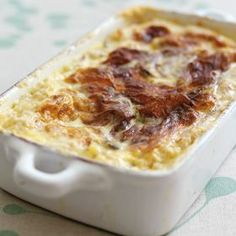James Barber's Baked Rice Pudding ~ rich, buttery, sweet and oh so creamy!