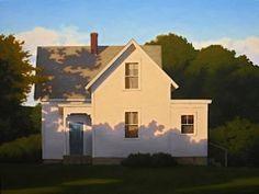 Farmhouse Shadows by Jim Holland