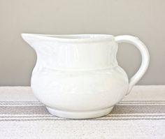 Vintage Porcelain Jug by BeyondTheBrocante on Etsy