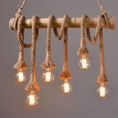 Find More Pendant Lights Information about Vintage Rope  Bamboo Pendant Lights Loft Creative Personality Industrial Pendant Lamps Bar Light Fixture Luminiare hanging lamp,High Quality lamp photo,China lamp night Suppliers, Cheap lamp guard from Zhongshan East Shine Lighting on Aliexpress.com