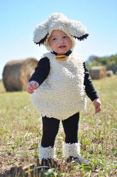 Oui Oui-disfraces originales para bebés-niños-oveja-muy mono
