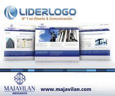Diseño web para tu empresa vía www.liderlogo.com/web #webdesign #design #logodesign
