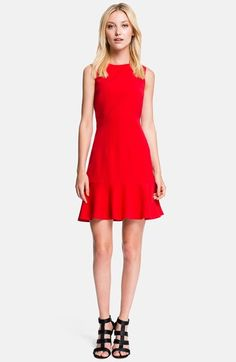 Free shipping and returns on 1.State Drop Waist Fit & Flare Dress at Nordstrom.com. Clever seaming perfects the flattering silhouette of this versatile fit-and-flare dress finished with a flippy, drop-waist skirt.