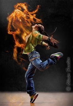 dancer by Olivier Fuselier, via 500px