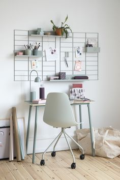 The Danish bran Søstrene Grene has launched a whole new collection filled with office supplies and office furniture.