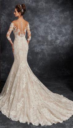 Featured Wedding Dress: Ira Koval; www.irakoval.com; Wedding dress idea.