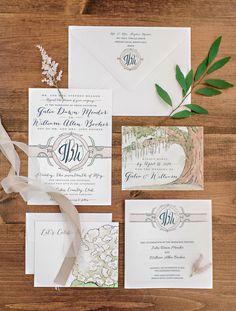 watercolor invitation suite   Pasha Belman #wedding