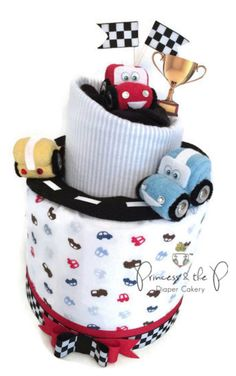 Amazing Diaper Cakes for Baby Shower: Gifts & Decorations. These handmade diaper cakes make beautiful decorations & fantastic gifts. People will not forget a baby shower with one of these amazing cakes. Which one is your favorite? http://www.bathtimefuntime.com/diaper-cakes/