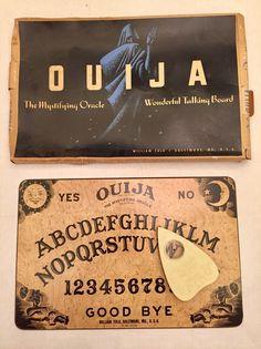 WILLIAM FULD Vintage OUIJA TALKING BOARD w/ Original Box + Planchette, Ca 1950s    eBay