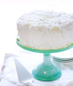 This light-as-air Coconut Angel Food Cake is going to be a new family favorite! #coconutcake #angelfoodcake #coconutangelfoodcake #baking #angelfoodrecipe #recipes #iambaker Angel Cake, Angel Food Cake, My Recipes, Cooking Recipes, I Am Baker, Food To Make, Delish, Muffins, Coconut