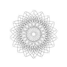 Kai li logo line work. Mandala Art. Instagram: @elixir_creative