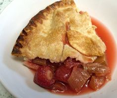 Jenny Eatwell's Rhubarb & Ginger: Strawberry & Rhubarb Pie - why haven't I made this before now? Strawberry Rhubarb Recipes, My Cookbook, Cakes And More, Eating Well, Apple Pie, Deserts, Food And Drink, Sweets, Friday