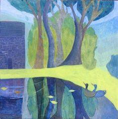 Artists Register - Artists, Artist Websites and Portfolios - London Modern Landscaping, London Art, Tempera, Art Portfolio, Suzy, Traditional Art, Gouache, Photo Art, Mosaic