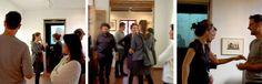 """Inauguración exposición """"esto y lo otro, apuntes de viaje(s)"""" de Manolo Sierra."""