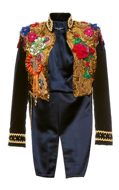 Sequin Paillette Tailcoat Jacket by DOLCE & GABBANA for Preorder on Moda Operandi