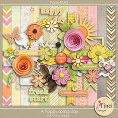 A happy spring day :: Full & Mini Kits :: Memory Scraps