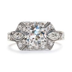Art Deco Engagement Ring | Vintage Engagement Ring