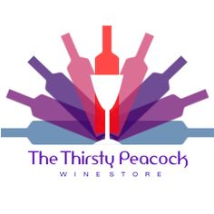 The Thirsty Peacock via 80 Creative Logo Designs For Your Inspiration