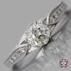 Diamond Engagement Ring - Certified 0.51ct H/VS Diamond