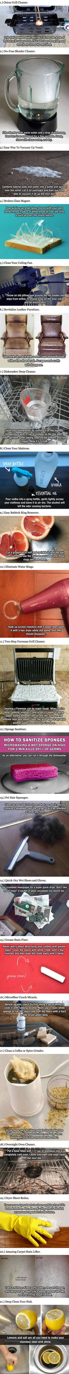 These 21 Hacks Will Forever Change The Way You Clean Your House.
