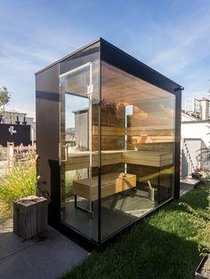 Design Aussensauna aussensauna sichtbeton küng home home