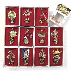 Naruto Jewelry Variety //Price: $14.99 & FREE Shipping //     #naruto#narutoshippuden#narutouzumaki#narutogaiden#narutofan#narutogifts#anime