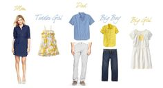 Kel Ward Photography   Salem Photographer   Portland Photographer: What to Wear   Blue and Yellow.