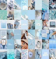 Light Blue Aesthetic, Blue Aesthetic Pastel, Aesthetic Pastel Wallpaper, Aesthetic Wallpapers, Cute Bedroom Decor, Bedroom Ideas, Baby Blue Wallpaper, Best Instagram Feeds, Ios Phone