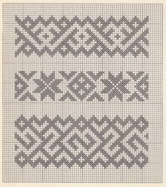 """""""patterns and stitches"""" – It Was A Work of Craft - knitting charts Knitting Stiches, Knitting Charts, Knitting Patterns, Crochet Patterns, Cross Stitch Bookmarks, Cross Stitch Embroidery, Hand Embroidery Designs, Embroidery Patterns, Cross Stitch Designs"""