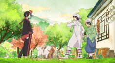 episode 03: Momotaro works as a collector in the shop of Hakutaku