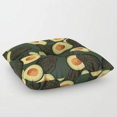 Avocado Pattern Floor Pillow by marlenepixley Floor Pillows, Avocado, Artwork, Pattern, Stuff To Buy, Work Of Art, Lawyer, Auguste Rodin Artwork, Patterns